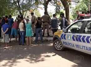 Metalúrgico é assassinado na avenida JK, em Palmas - Metalúrgico é assassinado na avenida JK, em Palmas
