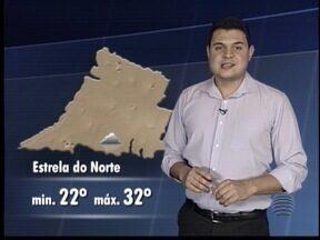 Tiago Rodrigues traz a previsão do tempo para este sábado - Saiba como ficam as temperaturas no Oeste Paulista.