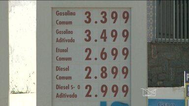 Reajuste no preço da gasolina chega às bombas e causa reclamações em São Luís - Reajuste no preço da gasolina chega às bombas e causa reclamações em São Luís