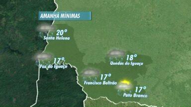 Fim de semana será de chuva na região - Veja a previsão no mapa