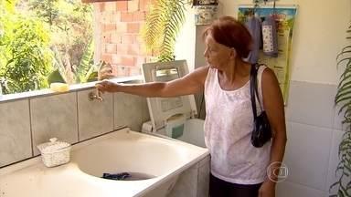 Caeté, na Grande BH, adota rodízio de água - Cidade passa por crise hídrica