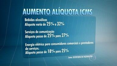 Pimentel sanciona reajuste de ICMS em Minas - Medida vale para determinados produtos e passa a valer em 2016