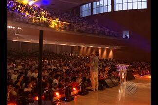 Igreja do Evangelho Quadrangular promove conferência - Jovens de todo o país participaram do evento em Belém.