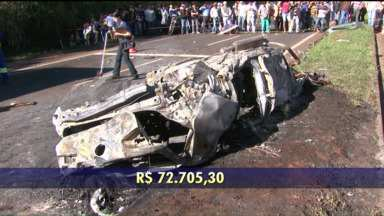 Acidentes em estradas federais em 2014 custaram R$ 12 bilhões, diz pesquisa - Muitos acidentes são causados pela imprudência ao volante.