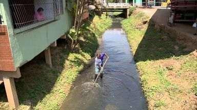Seca atinge rios do ES e preocupa capixabas - Muitos enviaram fotos da situação dos rios no estado.