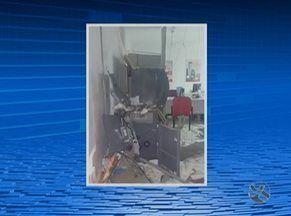 Caixa eletrônico é explodido em posto de autoatendimento no Agreste - Crime ocorreu na madrugada deste domingo (4) em Santa Maria do Cambucá.