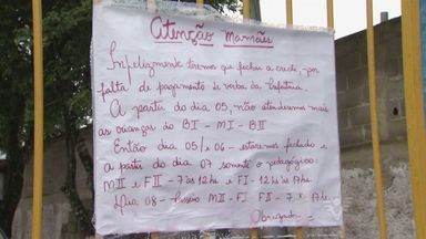 Mães de alunos do Lar de Assistência ao Menor protestam contra fechamento da unidade - Elas cobraram explicações da prefeitura