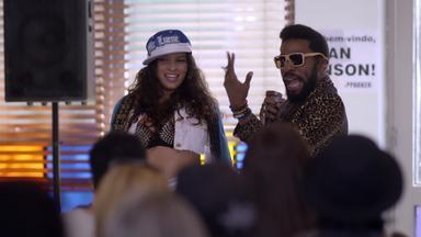 Em Geração Brasil, o personagem de Lázaro Ramos mandou ver no funk - Relembre cena musical com o ator em 2014