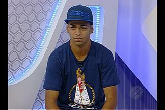 Léo Paraíba participa do Globo Esporte - Atacante do Remo fala da expectativa do acesso à Série C.