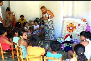 Alunos têm aulas sobre as riquezas geológicas do Parque Araripe - Geoparque é o único do gênero no Brasil.