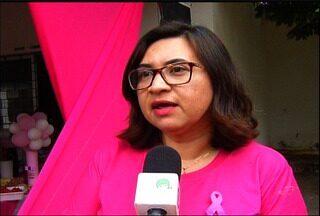 Secretaria de Saúde do Crato garante acesso mais rápido a exames no Outubro Rosa - Cidade lançou a campanha Crato Rosa.