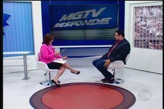 MGTV Responde esclarece dúvidas sobre dívidas e nome sujo na praça - Convidado é o especialista em finanças Marcelo Cunha.