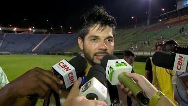 Goiano agradece confiança e comemora passes certeiros - Jogadas dos dois gols da vitória do Tupi-MG sobre o ASA saíram dos pés do meia.