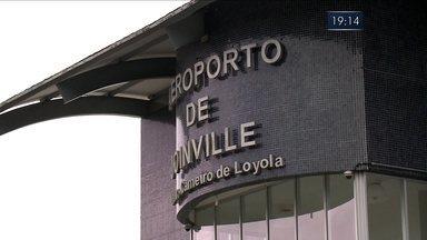 Reunião deve decidir o futuro do aeroporto de Joinville - Reunião deve decidir o futuro do aeroporto de Joinville