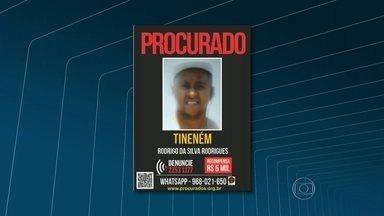 Polícia procura bandido suspeito de aterrorizar a favela do Caramujo, em Niterói - Rodrigo Rodrigues é procurado por tráfico de drogas e assassinatos. Os investigadores dizem que ele é o chefe do tráfico na favela.
