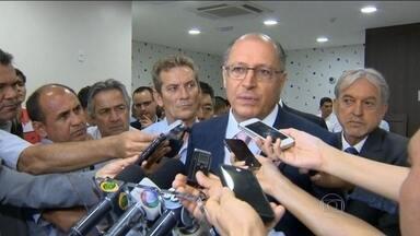 Alckmin manda reavaliar sigilo dos documentos do Metrô - Um detalhe que chama a atenção na classificação desses documentos é a data em que eles se tornaram sigilosos. O decreto do governo foi publicado no Diario Oficial em julho do ano passado, época do início da campanha eleitoral pra governador.