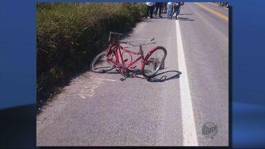 Ciclista de 58 anos morre após ser atingido por carro em Caxambu (MG) - Ciclista de 58 anos morre após ser atingido por carro em Caxambu (MG)