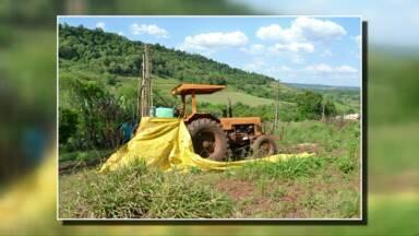 Agricultor é encontrado morto no interior de Planalto - Homem foi imprensado entre o pulverizador e o veículo