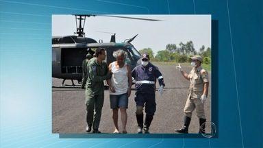 Força Aérea apura causas de acidente envolvendo avião que caiu nesta terça em MS - O avião caiu logo após decolagem, na região de Coxim. Além do piloto, haviam dois passageiros, entre eles um padre que chegou a ser socorrido, mas morreu no hospital.