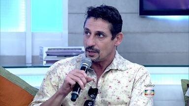Tuca Andrada revela que a arte é terapêutica - Fátima Bernardes manda beijo para amiga da dança que teve câncer de mama