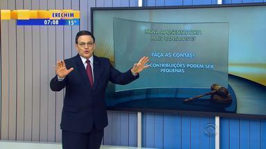 Cláudio Brito explica sobre a desaposentação - Assista ao vídeo.