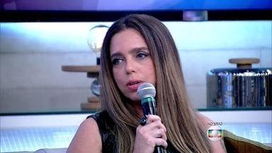 Delegada Monique Vidal fala sobre os cuidados que as pessoas têm que ter - Luiza Possi conta que já foi assaltada à mão armada em São Paulo