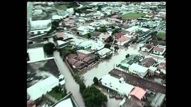 Pelo menos 19 cidades de SC registram danos causados pela chuva - Pelo menos 19 cidades de SC registram danos causados pela chuva