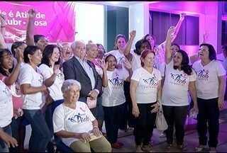 Lançada a Campanha 'Outubro rosa' em Montes Claros - 'Outubro Rosa' visa atender mais de 1.500 mulheres em Montes Claros