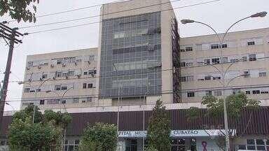 15 pacientes internados em Cubatão esperam por uma decisão da Justiça - Todos eles aguardam um exame no Hospital Guilherme Álvaro, em Santos.