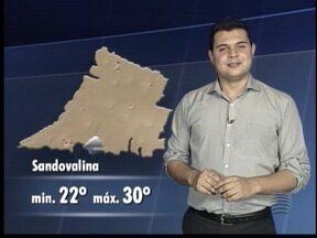 Confira como ficam as temperaturas neste sábado na região - Tiago Rodrigues informa se a chuva continua ou não no Oeste Paulista.