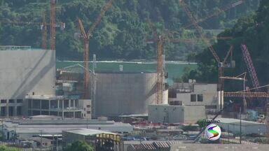 CDL prevê impacto na economia após demissões em Angra dos Reis, RJ - Mais de mil trabalhadores da construção civil no complexo nuclear de Angra 3 foram dispensados.