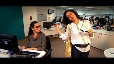 Maria Menezes pede para reprisar o Mapas Inveja - Ela e Cyria Coentro mostram como lidar com os invejosos