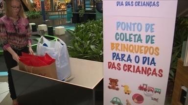 Florianópolis terá ações para arrecadar brinquedos para crianças carentes - Florianópolis terá ações para arrecadar brinquedos para crianças carentes