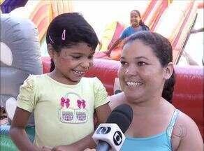Crianças acordam cedo para participarem do Projeto Ciranda, em Palmas - Crianças acordam cedo para participarem do Projeto Ciranda, em Palmas