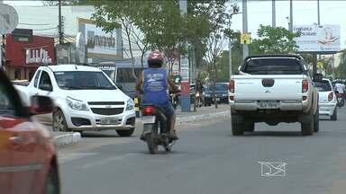 Polícia procura homem que assalta lojas de material de construção em Balsas - Polícia procura homem que assalta lojas de material de construção em Balsas