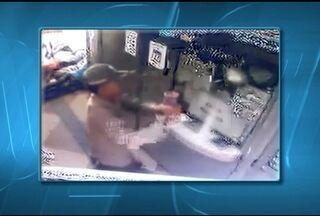 PM procura por bandidos que tentaram assaltar casa lotérica em Montes Claros - Tentativa de assalto ocorreu no Bairro JK