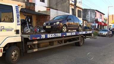 CPTRAN realiza blitz em Aracaju - CPTRAN realiza blitz em Aracaju
