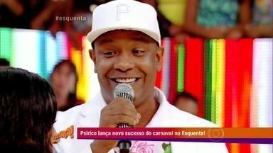 Márcio Victor conta promessa que mãe fez: Fazer caruru nos meus aniversários - Cantor era irmão gêmeo e conta história para Regina Casé