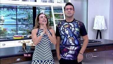 André Marques e Cissa Guimarães dão parabéns aos professores! - Eles comemoram a data dedicada aos mestres