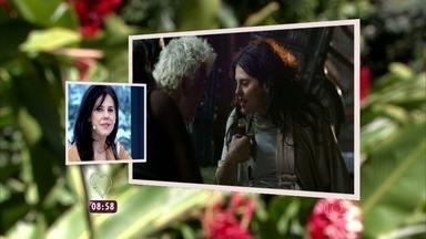 Reveja cena em que Nelita surta e parece uma mendiga - Personagem de Bárbara Paz em 'A Regra do Jogo' é bipolar