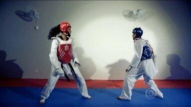"""Taekwondo, arte milenar coreana, participa pela 5ª vez das Olimpíadas - Uma arte marcial nascida há mais de mil anos na coreia, que vai pra quinta participação valendo medalha dos Jogos Olímpicos. Esse é o taekwondo, que está no quadro mensal """"Que Esporte é Esse?""""."""
