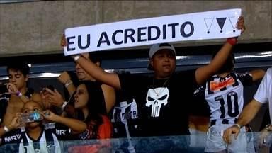 Apesar do favoritismo do Corinthians, atleticanos continuam confiantes no título - Galo precisa de mais uma reação histórica para ficar com o troféu do Brasileirão