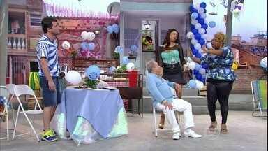 Nicoly e Marlene voltam para o palco - Chico (Marcelo Serrado) é grosseiro com a mulher