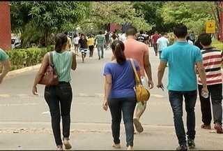 Milhares de estudantes fizeram o Enem em Montes Claros - No último dia teve muito corre-corre.