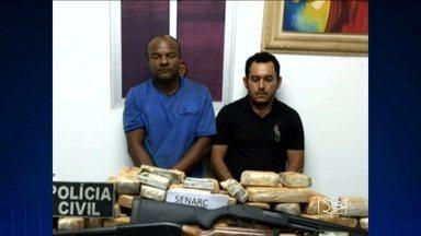Presos no MA dois suspeitos de tráfico internacional de drogas - Presos no MA dois suspeitos de tráfico internacional de drogas