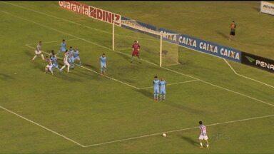 Londrina segura empate contra Tupi-MG e leva decisão ao Estádio do Café - Tubarão empatou sem gols com o time mineiro na primeira partida das semifinais da Série C do Brasileiro