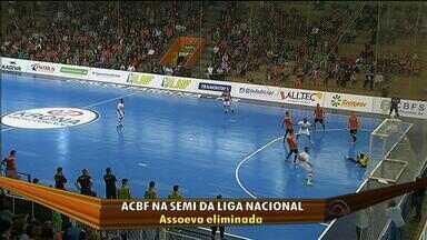 ACBF garante vaga na semifinal da Liga Nacional de Futsal - A Assoeva, de Venâncio Aires foi eliminada.