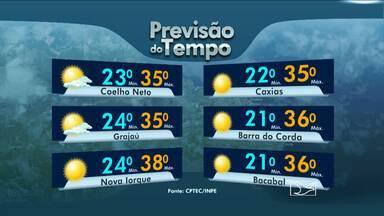 Veja a previsão do tempo no Maranhão - Veja a previsão do tempo no Maranhão