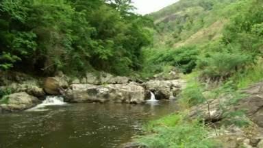 Projeto para recuperar margens de rio é desenvolvido em Miguel Pereira, RJ - Três quilômetros de cercas, que estavam em área de invasão, foram retiradas pela prefeitura.