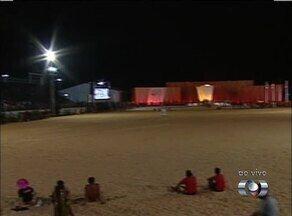 Etnias indígenas disputam corrida de 100 metros na Vila dos Jogos - Etnias indígenas disputam corrida de 100 metros na Vila dos Jogos